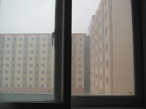 view from the closed window ;P